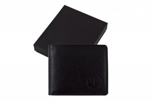 Peněženka Slavie černá kožená