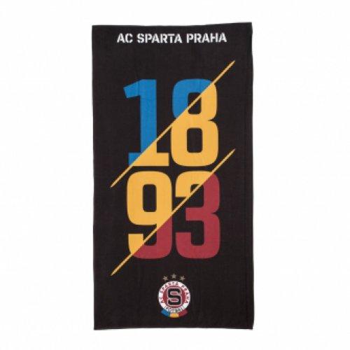 Osuška plážová Sparta 1893-černá