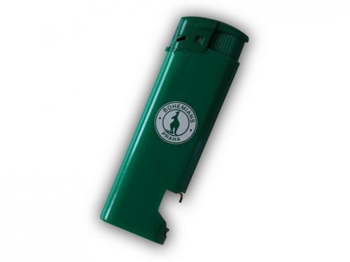 Zapalovač Bohemians-zelený
