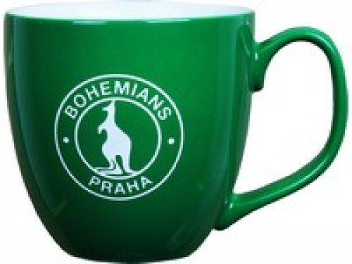 Hrnek Bohemians - zelený