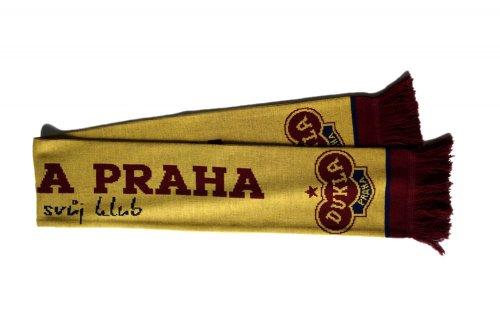 Šála Dukla Praha - žlutá