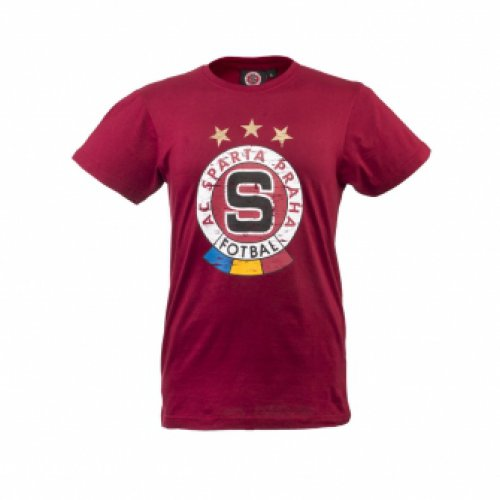 Triko Sparta rudé-logo