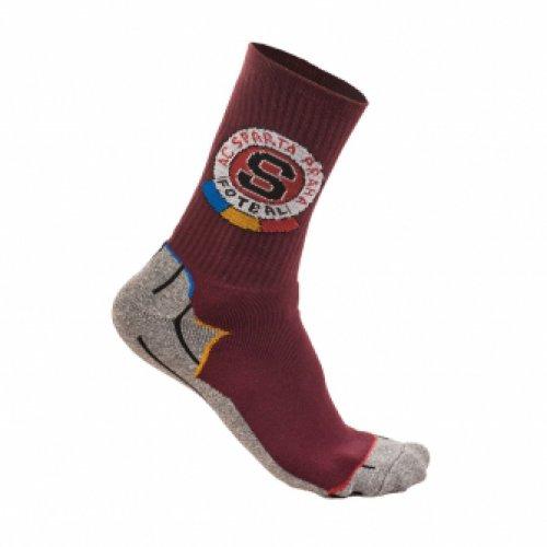 Ponožky Sparta ACS rudé