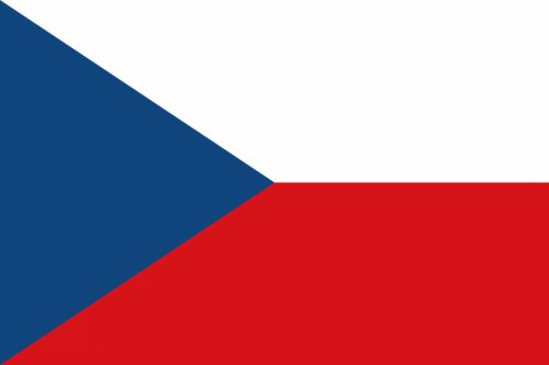 Vlajka ČR 45x30cm