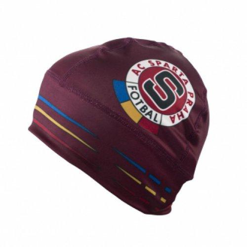 Čepice Sparta rudá logo
