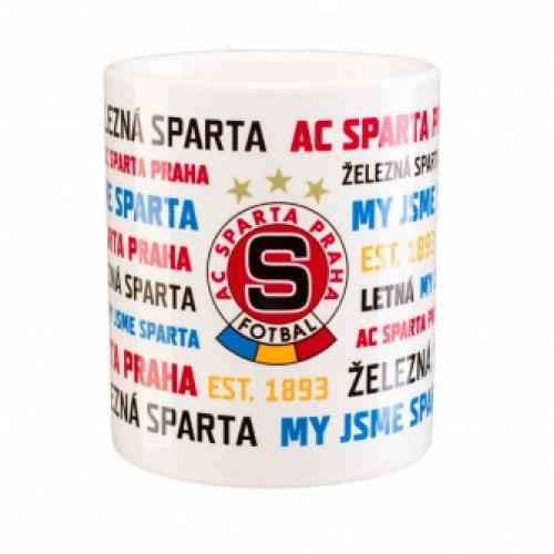 Hrnek Sparta nápisy