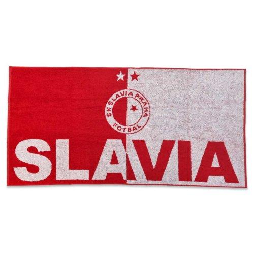 Osuška Slavie - nápis+logo