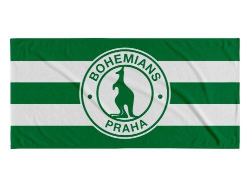 Osuška Bohemians zelenobílá