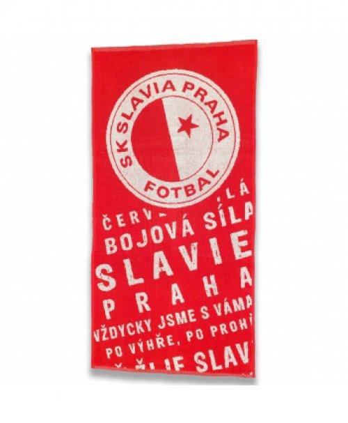 Ručník Slavie děkovačka