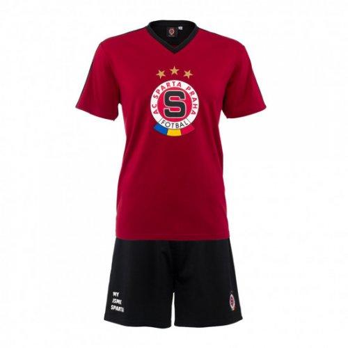 Pyžamo Sparta rudé+černé pánské