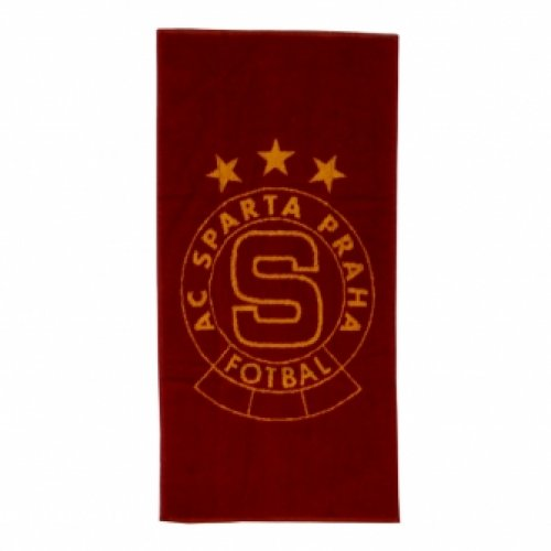 Osuška Sparta rudo-žlutá logo