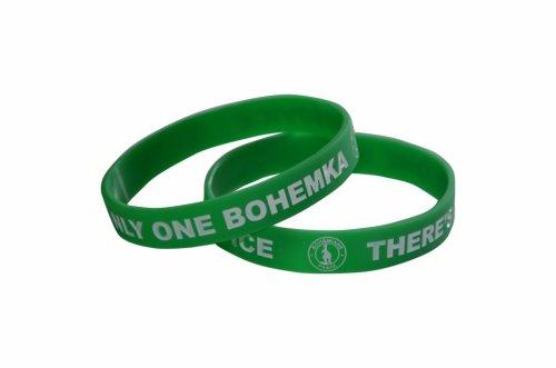 Náramek zelený Bohemians