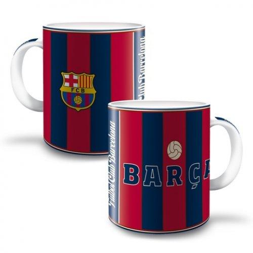 Hrnek FC Barcelona-pruhy
