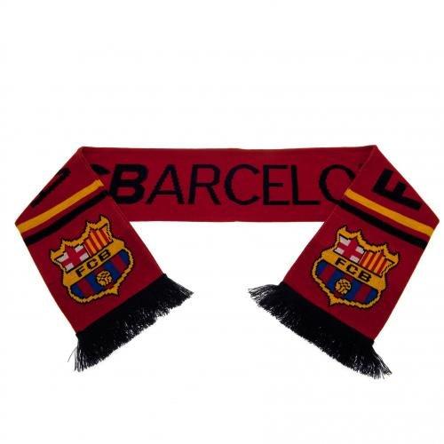 Šála FC Barcelona-vínová