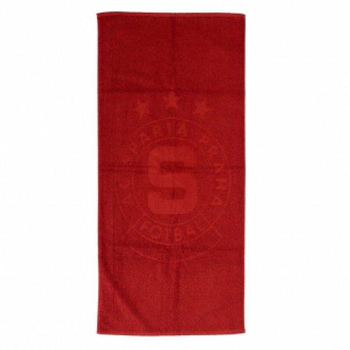 Ručník Sparta rudý - logo