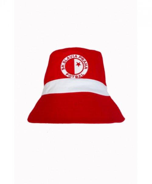 Retro klobouček Slavie červený