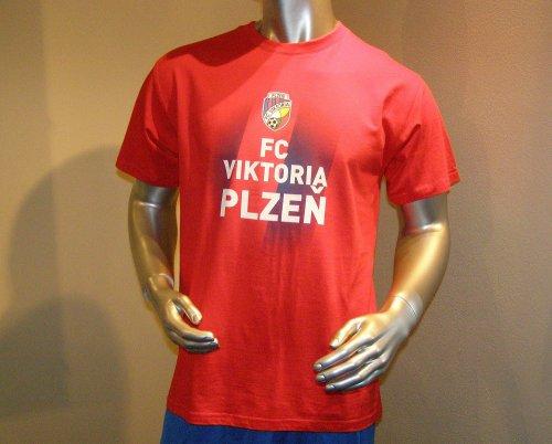 Triko Viktorie Plzeň-červené