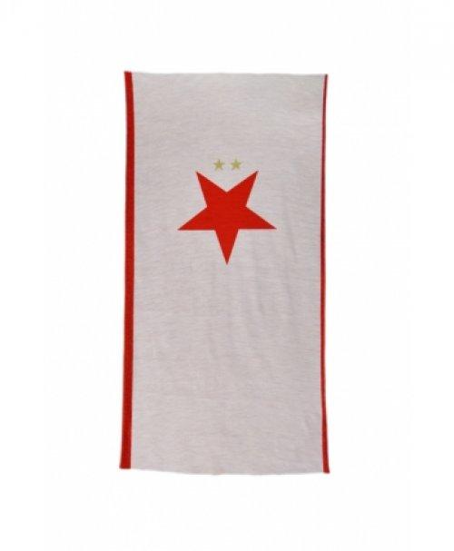 Multifunční šátek červenobílý Slavie