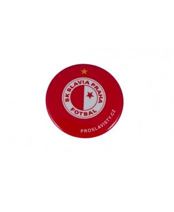 Placka Slavie logo-červená