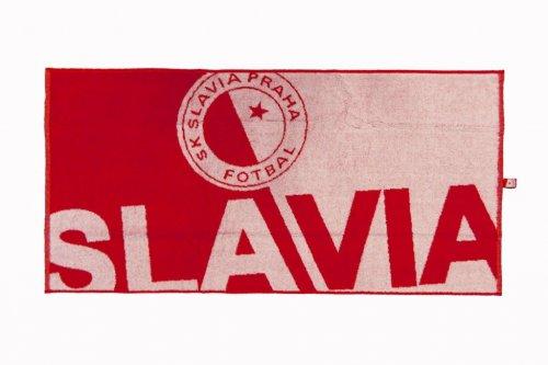 Ručník Slavie - nápis