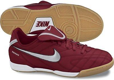 Sálovky Nike-Tiempo-vínová