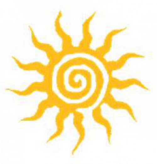 Osuška plážová Sparta rudá - nápisy