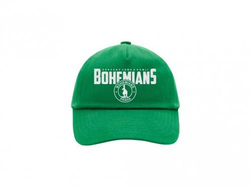 Kšiltovka Bohemians zelená - dětská